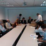 Febrero de 2014. Apertura de la licitación del edificio Cero + Infinito en el MinCyT.
