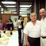 Fiesta de despedida por jubilación de Luis Casco, el encargado de la limpieza del decanato.