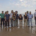 Luego de la actividad protocolar, la delegación de Exactas-UBA visitó el balneario.